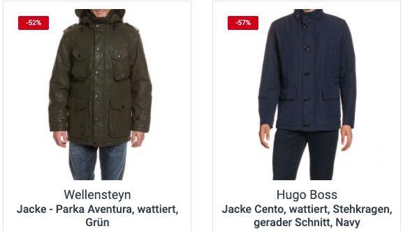 Restposten Sale bei TOP12 + 20% Gutschein   z.B. Hugo Boss Jacke Cento für 135,99€ (statt 250€)