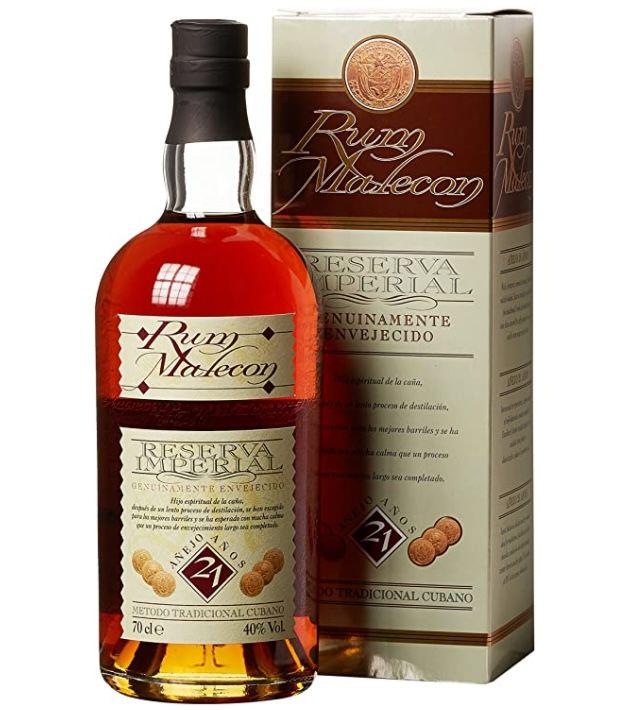 Malecon Reserva Imperial 21 Jahre Dark Rum für 37,79€ (statt 47€)