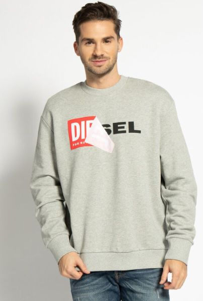 Diesel Sweatshirt Samy Felpa in 4 Farben für je 40,45€ (statt 80€)