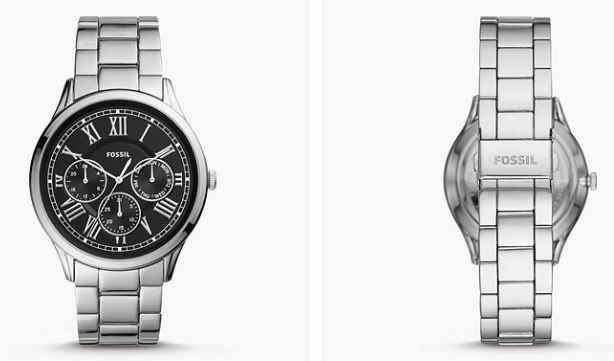 Fossil Pierce Herren Uhr mit Faltschließe für 50,32€(statt 97€)