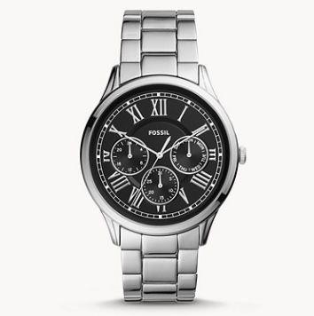 Fossil Pierce Herren Uhr mit Faltschließe für 74€(statt 149€)