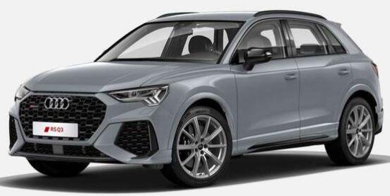 Gewerbe: Audi RS Q3 S tronic mit 400 PS für 459€ mtl. netto