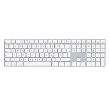 Apple Magic Keyboard mit Ziffernblock in Silber für 99€ (statt 123€)