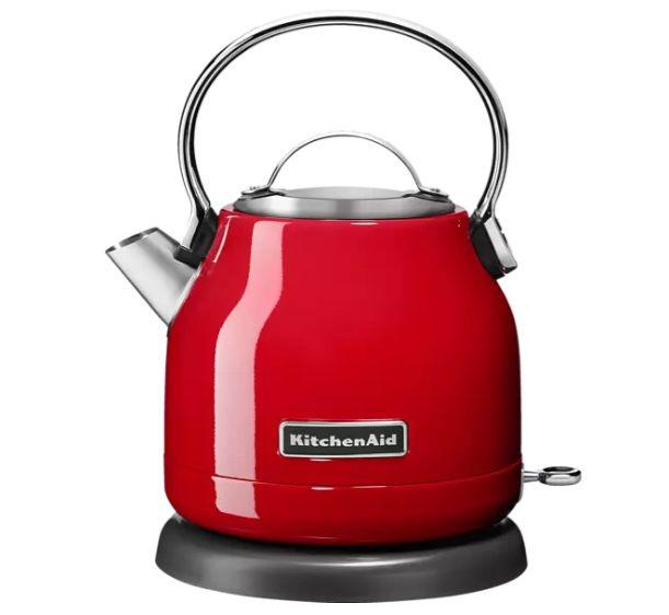 KitchenAid Wasserkocher in Empire Rot für 59,99€ (statt 68€)