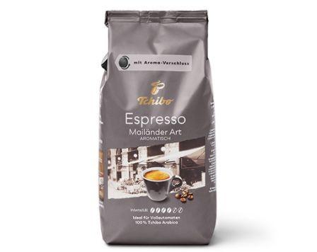 3kg Espresso Mailänder Art (ganze Bohne) für 26,97€ (statt 39€)