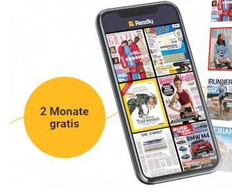 Readly eMagazin Flatrate 2 Monate gratis testen (statt 20€)
