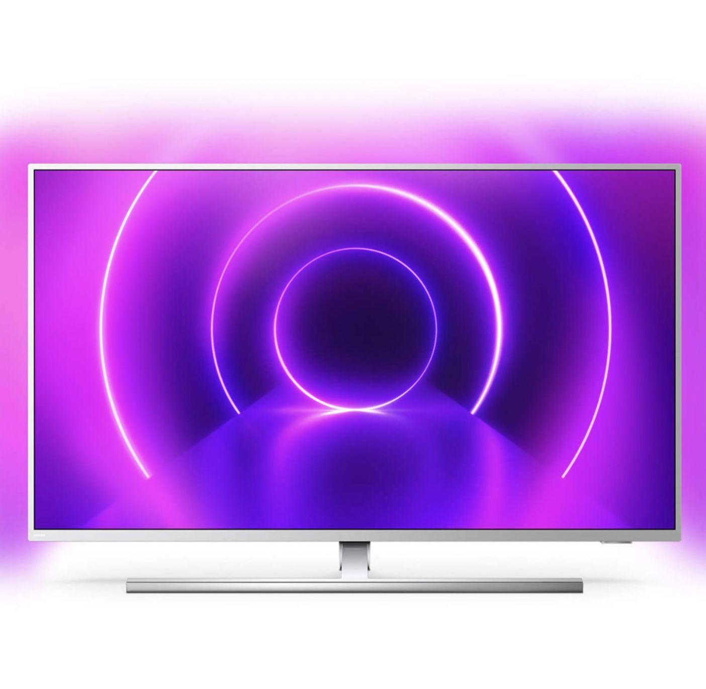 Philips 65PUS8545 – 65 Zoll UHD Android Fernseher mit 3-seitigem Ambilight für 789€ (statt 970€)