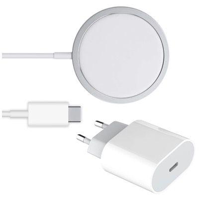 Schnellladegerät 20W mit USB C inkl. 15W Magsafe Charger für 22,90€ (statt 40€)