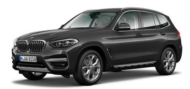 Privat & Gewerbe: BMW X3 20i X Line in Sophistograu Metallic mit 184PS für 369€   LF 0,67