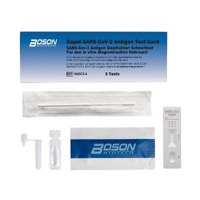 Pricedrop: 5er Pack Corona SARS-CoV-2 Antigenschnelltest Boson nur 23,94€ – Abstrich aus der Nase reicht