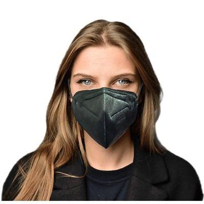 100er Pack Ansuk KBL Atemschutzmasken in Schwarz mit CE Zertifikat 0370 für 34,99€ – nur 35 Cent pro Maske