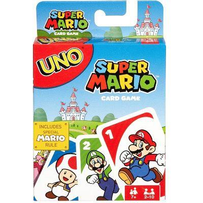 Mattel UNO Super Mario Kartenspiel für nur 5,27€ (statt 14€) – viel Lieferzeit