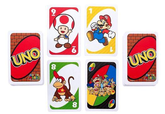 Mattel UNO Super Mario Kartenspiel für nur 5,27€ (statt 14€)   viel Lieferzeit