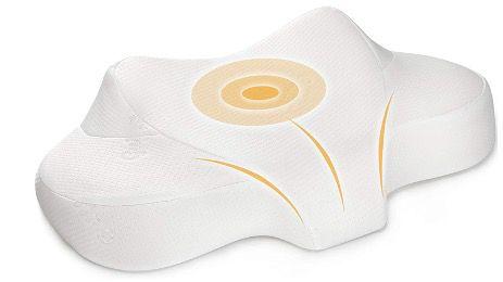 Guiffly Contour MemoryFoam Zervixkissen für Seiten & Rückenschläfer für 21,99€ (statt 40€)