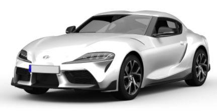 Privat: Toyota Supra Coupé 2.0 Turbo Automatik Pure mit 258 PS für 372€ mtl.   LF 0,80