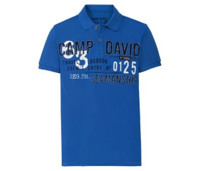 LIDL: Camp David Sale bis 65% Rabatt – z.B. Poloshirts für je nur 19,99€