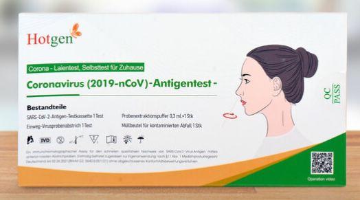 20er Pack Hotgen Corona SARS CoV 2 Antigen Schnelltest für 79,99€ (statt 100€)