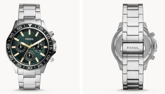 Fossil Bannon Multifunktions Herrenuhr mit Edelstahl Armband für 75,48€ (statt 143€)