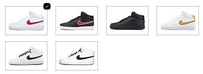 NIKE Court Vision Mid Herren Sneaker in verschiedenen Farben ab 41,41€ (statt 64€)