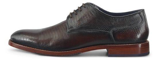 Daniel Hechter Business Herren Leder Schuhe Gysbert in Braun für 71,82€ (statt 110€)