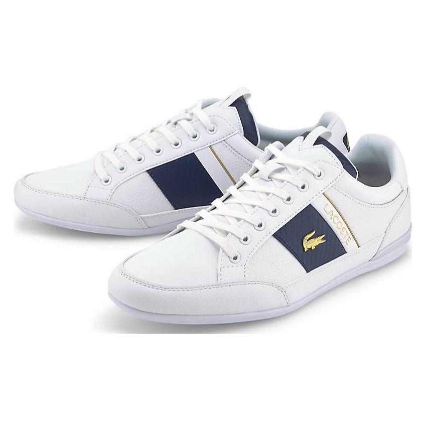 Lacoste Chaymon Lowcut Sneaker in Weiß für 77,35€ (statt 96€)