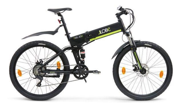 LLobe FML 830 27,5 Zoll Alu Elektro Mountain Faltrad für 1.249€ (statt 1.499€)