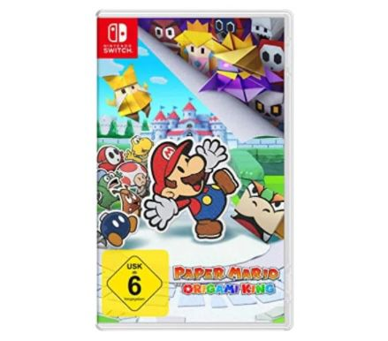 Paper Mario: The Origami King (Switch) für 28,98€ (statt 39€)