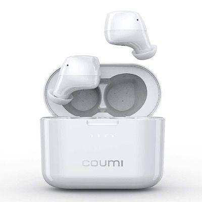 Coumi Bluetooth Kopfhörer PX7 Wasserdicht mit Touch Control und Ladetasche für 17,39€ (statt 29€)