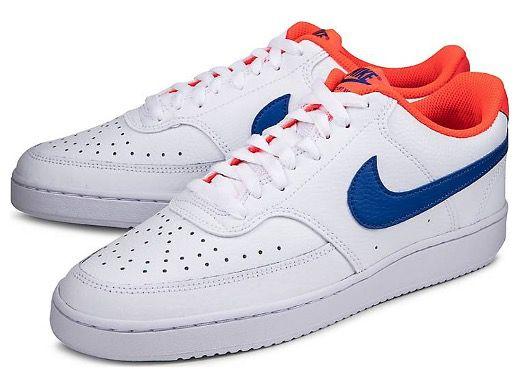 NIKE Sneaker COURT VISION LOW in Weiß für 33,78€ (statt 65€)   nur 43 bis 46