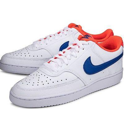 NIKE Sneaker COURT VISION LOW in Weiß für 33,78€ (statt 65€) – nur 43 bis 46