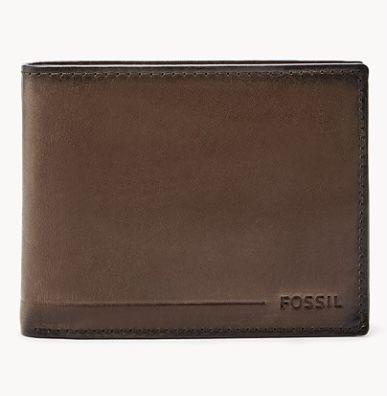"""Fossil Herren Leder-Geldbörse """"Allen"""" mit RFID für 19€ (statt 44€)"""