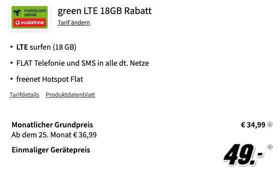 🔥 Samsung Galaxy S21+ 5G für 49€ + Vodafone Allnet Flat mit 18GB LTE für 34,99€ mtl. + 100€ Samsung Pay Guthaben