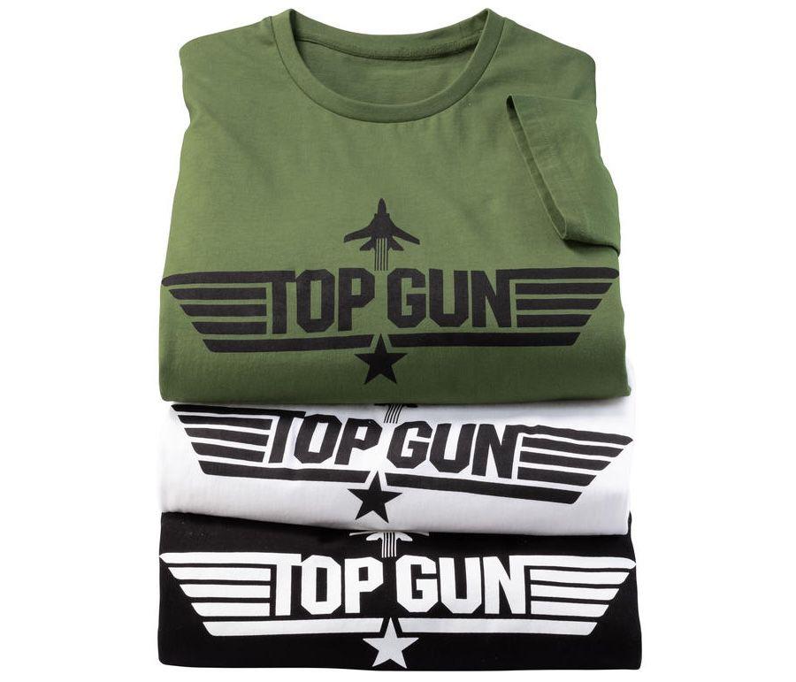 3er Pack Top Gun Herren T-Shirt + Nordcap Rucksack mit Kühlfach für 39,99€ (statt 65€)