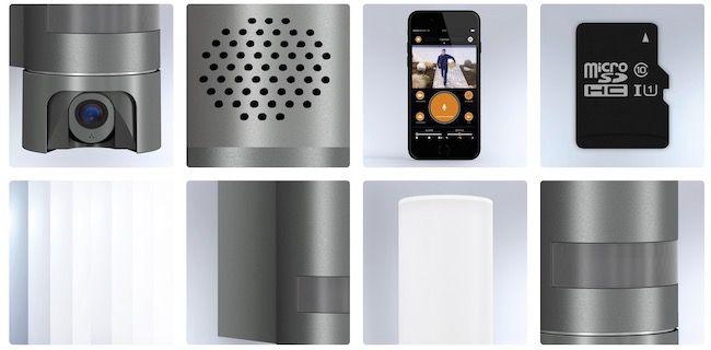 Steinel L600 CAM LED Außenleuchte mit Bewegungsmelder und Überwachungskamera für 87,72€ (statt 205€)   neuwertig