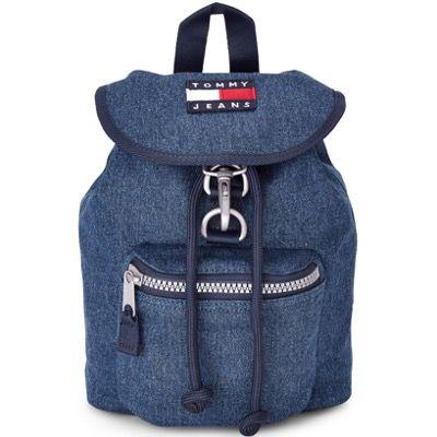 Tommy Jeans Heritage Rucksack aus Baumwolle in Blau für 55,22€ (statt 74€)