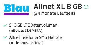 Xiaomi Mi 10T lite für 1€ + o2 Flat von Blau.de mit 8GB LTE für 15,99€ mtl.   Earbuds 2 Basic gratis