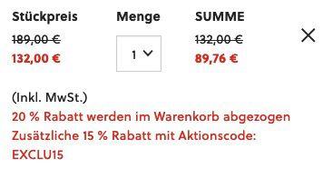 Fossil Herrenuhr Privateer Sport Chronograph in Edelstahl Anthrazit für 89,76€ (statt 132€)