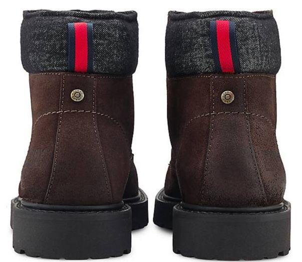 Tommy Jeans Lace Up Boots in Braun für 63,71€(statt 90€)