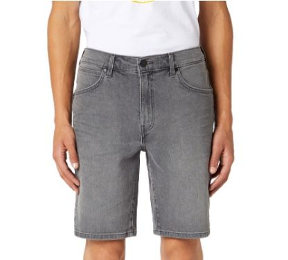 Wrangler Herren 5 Pocket Shorts in Grau ab 23,58€ (statt 60€)