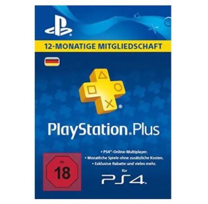 12 Monate PlayStation Plus für 44,49€ – nur 3,71€ pro Monat