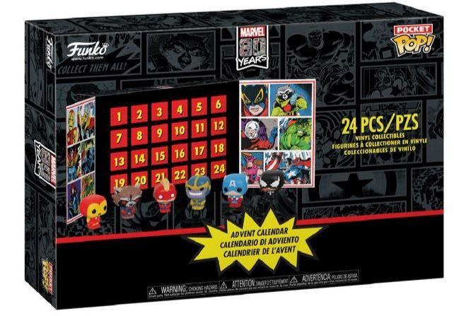 Marvel Pocket Pop Adventskalender mit 24 Figuren für 35,59€ (statt 63€)