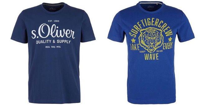 T Shirt Sale bei Tara M mit 10% Extra Rabatt   z.B. 5x s.Oliver T Shirt für 36€