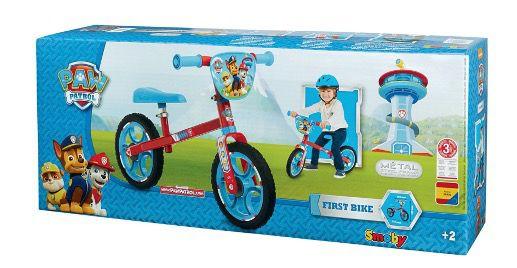 Smoby Laufrad Paw Patrol First Bike made in Europe für 29,94€ (statt 52€)