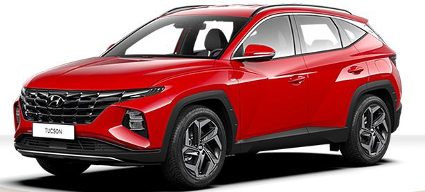 Privat: Hyundai Tucson Plug In Hybrid mit 265 PS für 219€ mtl.   LF: 0.51