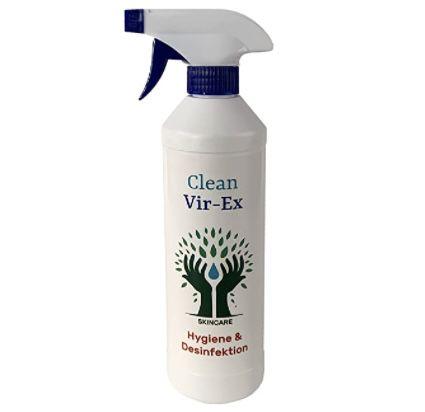 500ml Clean Vir Ex Desinfektionsmittel für 0,99€ zzgl. VSK (statt 6€)
