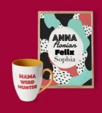 Mutter- & Vatertag: eBay mit 10% Rabatt auf originelle Geschenke – z.B. Doppelwandige Tasse mit Namensgravur ab 16€