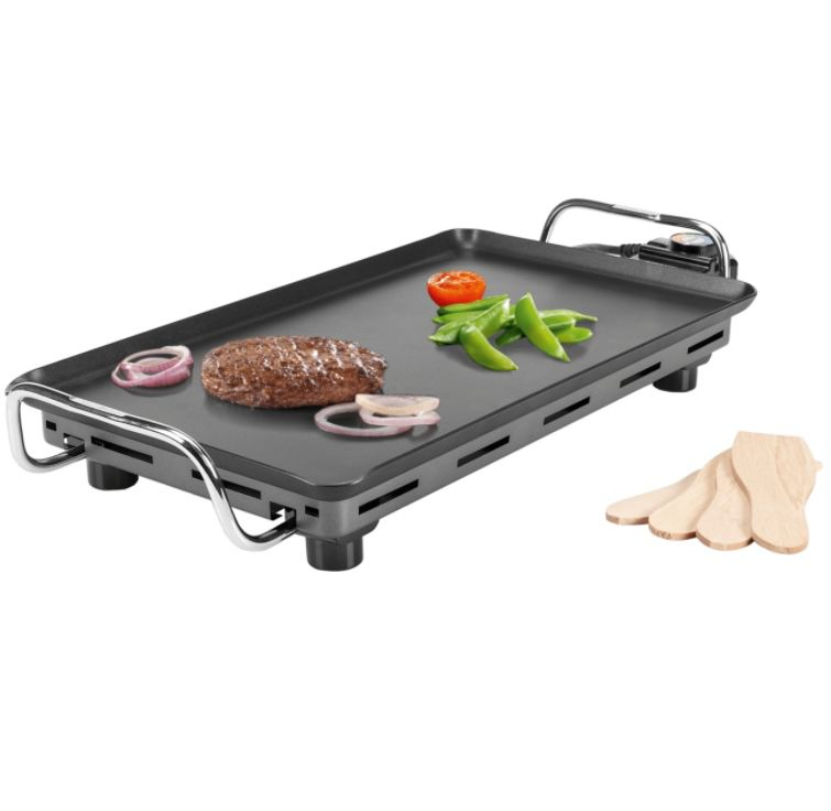 Princess Tischgrill Pro mit Teppanyaki-Grillplatte für 37,94€ (statt 54€)