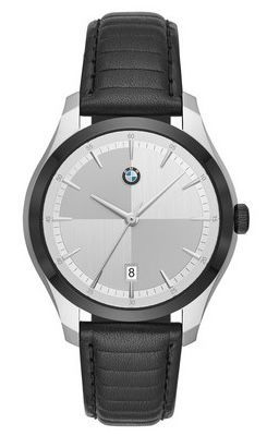 BMW Quarzuhr BMW5000 mit Datumsanzeige und Lederarmband für 125,90€ (statt 174€)
