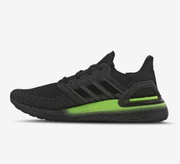 adidas Ultraboost 20 Sneaker in Core-Black für 89,99€ (statt 120€)