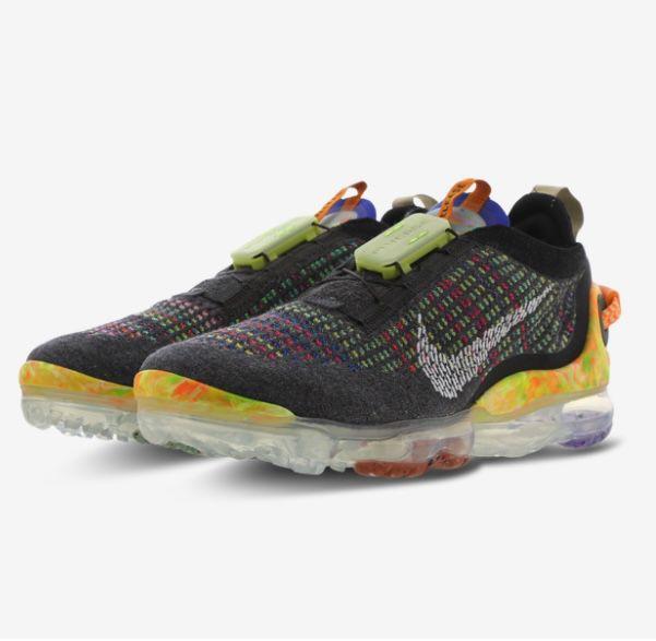Nike Air Vapormax 2020 Flyknit im Multi-Color bis 44 für 129,99€ (statt 190€)